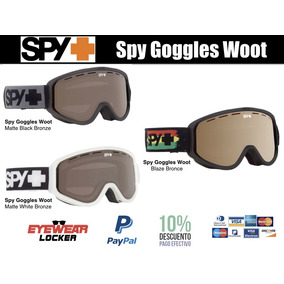 Gafas - Goggles Spy Woot 100% Originales