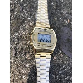 2c05fe353c5 Relógio Casio Gold Vintage - Relógios De Pulso no Mercado Livre Brasil