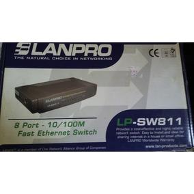 Switch 8 Puertos 10/100 Lanpro Lp-sw811-