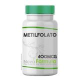 Metilfolato - Vitamina B9 - 400mcg 120 Cápsulas