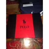 Estuche Polo Red Edt 125 Ml + Desodorante 125 Ml + Shower Ge