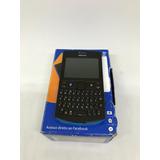 Nokia Asha 205 Dual Chip, Redes Sociais, Fm - Usado