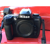 Cámara Réflex Nikon D100 Excelente Estado