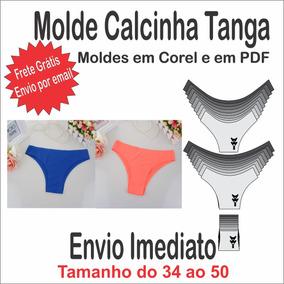 37745eb6b3df4 Molde Modelagem De Calcinha Fio no Mercado Livre Brasil
