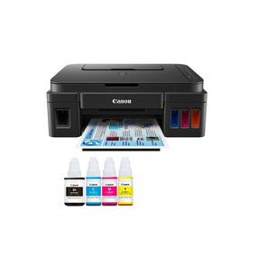 Multifuncional Canon Pixma G2100 + 500 Ml Tinta Extra 6be2a2b2842