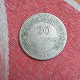 Ficha Salitrera De 20 Centavos Oficina Cala - Cala Año 1916