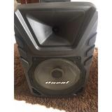 Caixa De Som Oneal Omf 405+microfone Sem Fio+controle Remoto