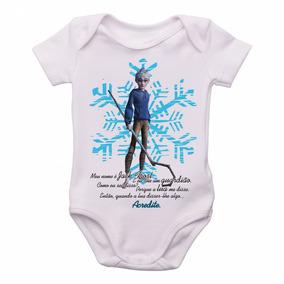 e5fbe09e2df Body Criança Roupa Bebê A Origem Dos Guardiões Jack Frost