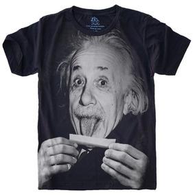 d32cb65c9 Camiseta Feminina Baby Look Einstein Lingua S-426