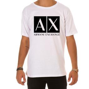 74a9cf2c8a5 Camiseta Camisa Blusa Masculina De Marca Armani Exchange!