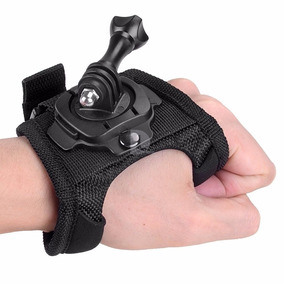 Luva Suporte Alça 360° Mão Pulso Gopro Go Pro Hero 5 6 7 Hd