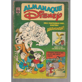 Almanaque Disney 118 - Abril - Bonellihq Cx339 F18
