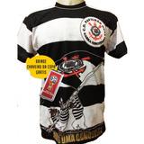 Camisa Gaviões Da Fiel Corinthians Preto Branco Torcida 2019 001bcd2d5ef57