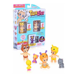 Twozies Pack X6 Bebes Con Mascotas Orig. Intek Mundo Manias