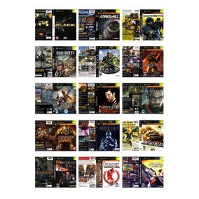 Xbox Classico 1ª Geração Patchs Dvd-rom 06 Unidades