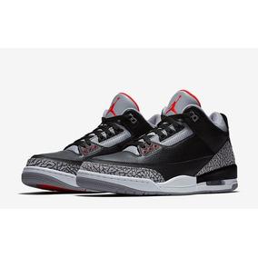pretty nice 8ef67 9ca08 Zapatillas Air Jordan Retro 3 Black Cement Og