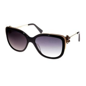 Óculos De Sol New Chic Ones1987 Preto dourado 1045 Feminino 402cf0d515