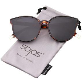 Sojos Redondas Gafas De Sol Para Mujer Espejo Lente Sj205. S  144 93ba86f2de8c