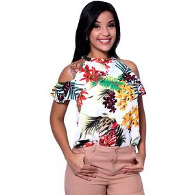 Blusa Estampada Emely Fash - Asya Fashion