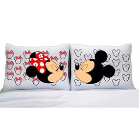 a6684362a9 Coberta Cama Casal Do Mickey Minnie - Roupa de Cama no Mercado Livre ...