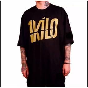 7e12109a1b Camisa Camiseta 1kilo Rap Edição Especial Gold Edition