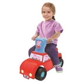 Carrinho Carro Andador Peppa Pig Push `n Scoot Com Som Bebê
