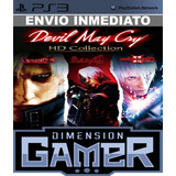 Devil May Cry Hd Collection Ps3 10.4gb Licencia Digital