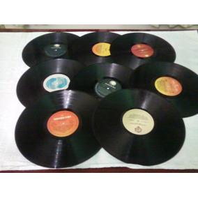 Disco Vinil Para Artesanato-30 Cm-kit Com 10 Discos Sem Capa