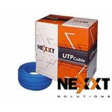 Rollo Cable Utp Categoria 5 Nexxt Cat5e Cetificado 305m Azul