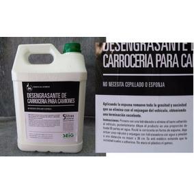 Desengrasante Carrocería De Camiones 5l. Limpieza Automotor.