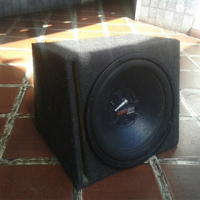 Bajo Audiopipe 15 Con Cajon Ventilado