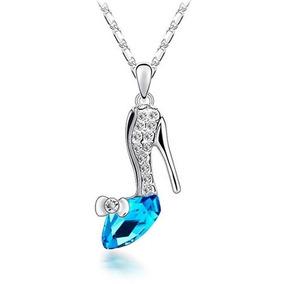 Regalo Collar Princesa Cenicienta Zapatilla Amor Swarovski E 7e6f65432749