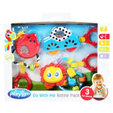 Set Juguetes Y Mordillo Playgro Go Me Rattle Pack