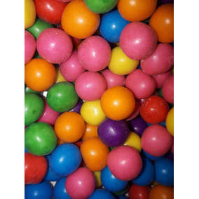 Chicle Globo Chicos Sabor Tutti Frutti Candy Bar X500grs