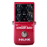 Pedal Overdrive Para Bajo Scream Bass Nux