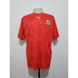 f2c404cf13 Camisa Oficial Seleção República Tcheca 2006 Home Puma Gg