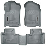 Husky Liners 99052weatherbeater Gris Front Y Asiento 2nd F