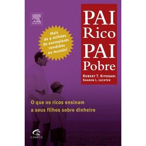 Livro Pai Rico Pai Pobre + Livro Brinde