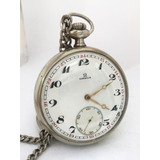 5105d56b37b Relógio Omega Masculino Níquel 48 Mm De 1920 - Assista Vídeo