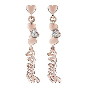 Aros Tenderness Oro Rosa Guess Jewellery