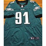 Camisa Philadelphia Eagles Autografada Elenco Superbowl 2018 6ea606d9028f6