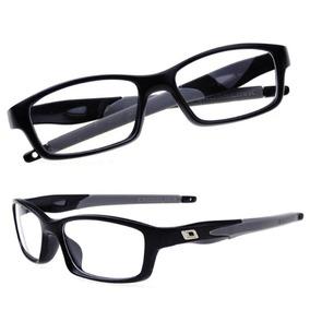 Arma o Oculos Grau Oakley Currency Cinza Acetato Ox 8028 - Óculos ... 37f07c67a9