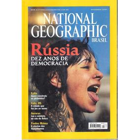 Revista National Geographic Brasil - Novembro De 2001