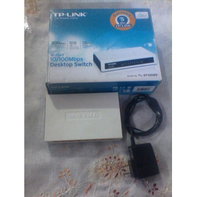 Switch Tp-link Red Internet 8 Puertos 10/100 Mbps Tl-sf1008d