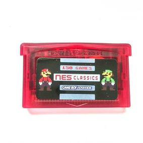 150 Em 1 Jogos De Nes Nintendinho Para Game Boy Advance Gba