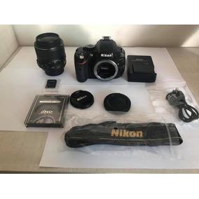 Câmera Nikon D5100 + Lente 18-55 + Brinde. Frete Grátis!