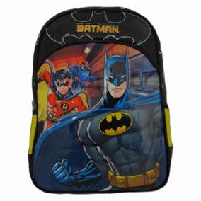 Mochila Masculina Escolar Infantil Batman Bat Squad