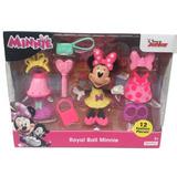 Disney Set Minnie Mouse Royal Ball Ropa Accesorios Original
