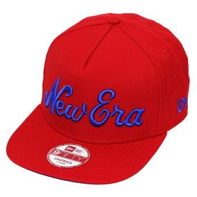 6abaa4d13c Boné New Era Aba Curva Snapback Brand Nyc - Bonés no Mercado Livre ...