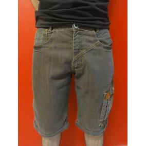 Bermuda Shorts Jeans Masculino - Tamanho 40 (ler Descrição)